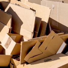 В Феодосии собирают гофрокартон и бумагу для вторичной переработки